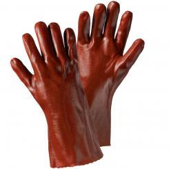 VINYL-35 Vinyl-Handschuh rotbraun