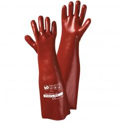 VINYL-60 Vinyl-Handschuh rotbraun