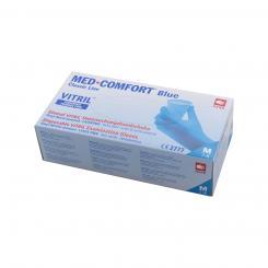 Vitril-Einmalhandschuh, blau