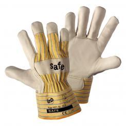 Safe Rindnarbenleder-Handschuh