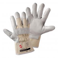 Basalt Rindnarbenleder-Handschuh