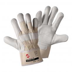 Robust Rindnarbenleder-Handschuh