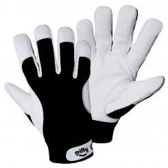 Winter-Montagehandschuh Ziegennappaleder-Handschuh