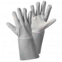 Nappa/Stulpe Nappaleder-Handschuh