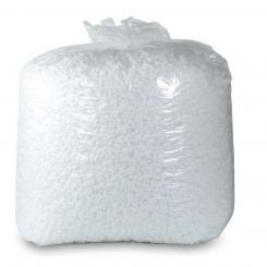 MDPE-Entsorgungssack mit Seitenfalte