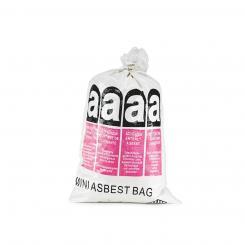 PP-Bändchengewebesack Asbest* Mini-Asbestbag